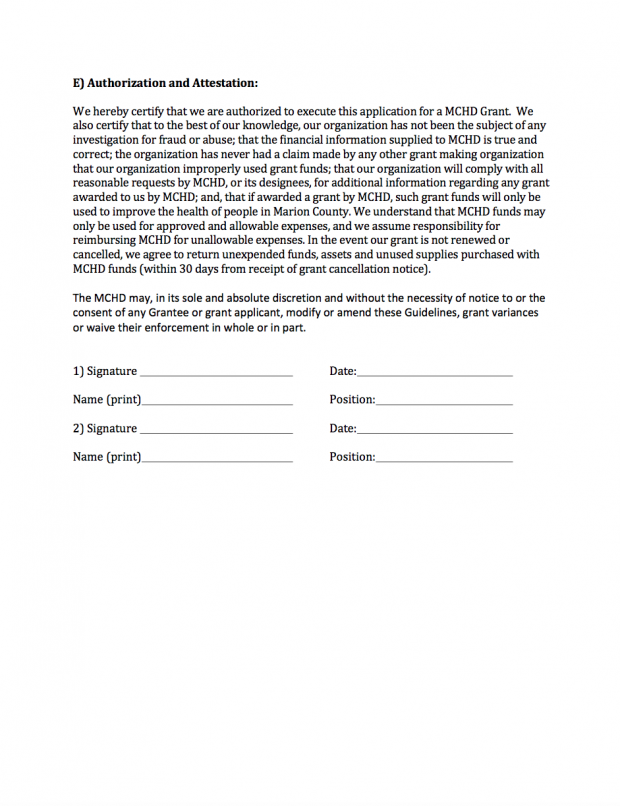 Attestation Form | Authorization And Attestation Form V2 Marion County Hospital District